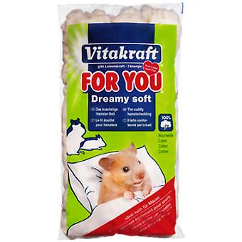 Vitakraft Dreamy Soft Bed for Hamsters (Small pets , Bedding)