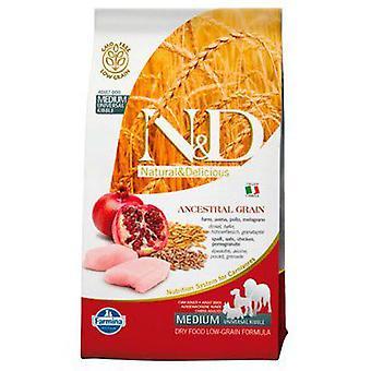 Farmina N&D Low Ancestral Grain Adult Medium Chicken and Pomegranate