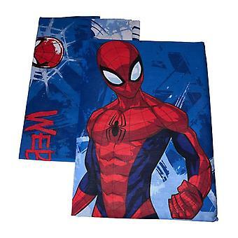 Blauwe rappers Spiderman Dekbedovertrek voor eenpersoonsbed