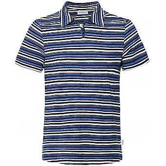 Oliver Spencer Slim Fit Striped Hawthorn Polo Shirt