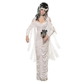 Bristol Neuheit Frauen/Damen Spuk Braut Halloween Kostüm Kleid