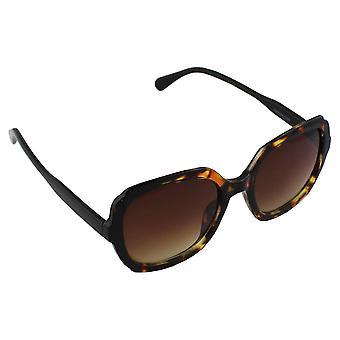 Sunglasses Ladies Square - Leopard Bruin2768_1