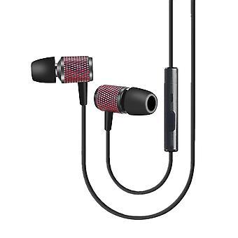 Binai ah-1 3.5mm audio olografico chip cnc auricolare auricolare hifi rumore cancellando impermeabile auricolari di controllo cablato con microfono per xiaomi huawei