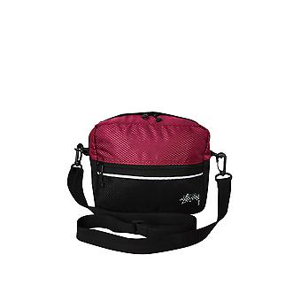 Stussy Stock Ripstop Shoulder Bag Plum