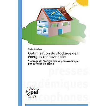 Optimisation du stockage des nergies renouvelables by ACHAIBOUN