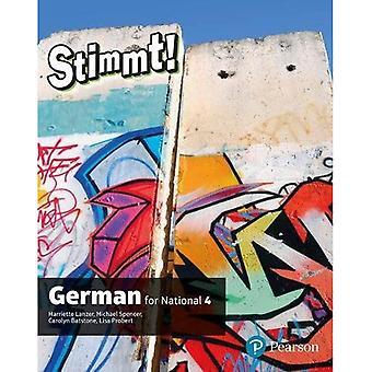 Stimmt for National 4 tysk studentbok