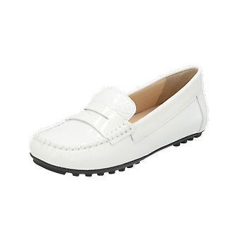 Geox D LEELYAN B Women's Ballerinas White Slippers Espadrilles Loafer