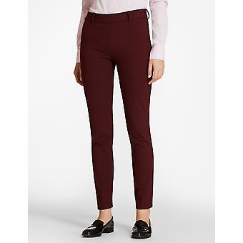 Brooks Brothers Women's Stretch-Cotton Twill Pantalones