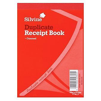 Silvine Duplicate 100 Sheets Cash Receipt Book (Pack Of 12)