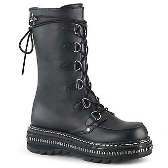 Demonia Women's Boots LILITH-270 Blk Vegan Leather