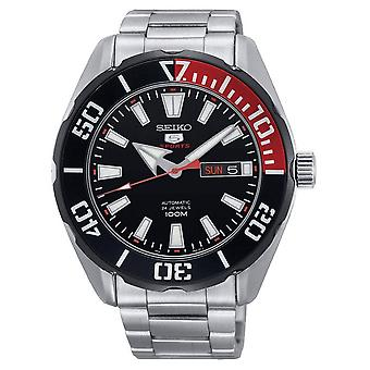 Seiko 5 Sports SRPC57K1 automatic men's watch 45 mm