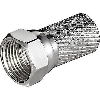 Kabelverbinding F-plug Kabel diameter: 7 mm Goobay
