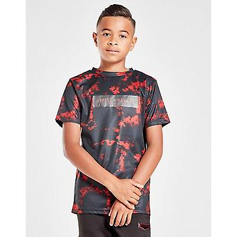 New Supply & Demand Kids' Venom Tie-Dye T-Shirt Black