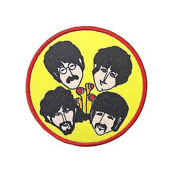De Beatles patch Yellow Submarine Perryscopen en Headsnew officiële opstrijkbare