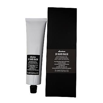 Davines OI Hand Balm Nourishing Beautifying Hand Cream, 2.53 oz.