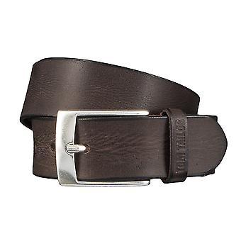 Jeans ceintures de hommes ceintures en cuir TOM TAILOR ceinture ceinture marron 4350