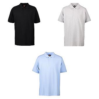 ID Mens Pro Wear Press Stud Polo Shirt