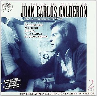 Juan Calderon - Todas Las Grabaciones 1973-1976 [CD] USA import