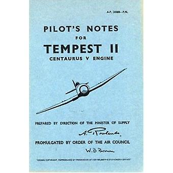 Air Ministry Pilot's Notes - Hawker Tempest II (Facsimile of 1946 ed)