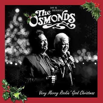 Osmonds - Very Merry Rockin' Christmas [CD] USA import