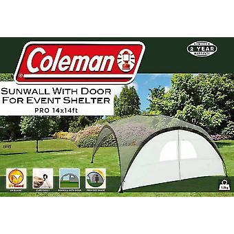 Coleman Sunwall Door voor Event Shelter Pro (14' x 14') Zilver