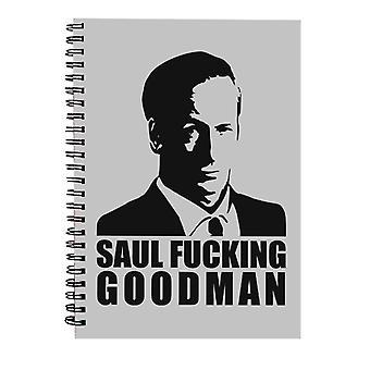 Saul Fucking Goodman Breaking Bad Spiral Notebook