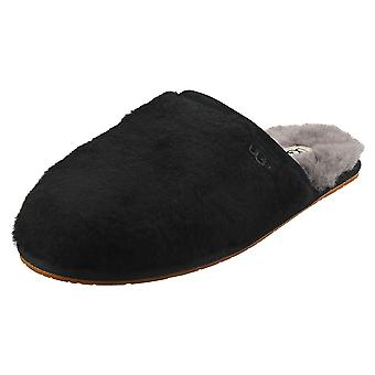 UGG Fluffette Womens Slippers Shoes in Black