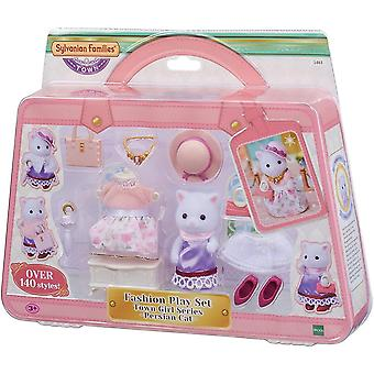 Sylvanian Families - Fashion Playset Persian Cat - 5461