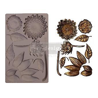 Re-diseño con Prima Forest Treasures 5x8 Pulgadas Mould