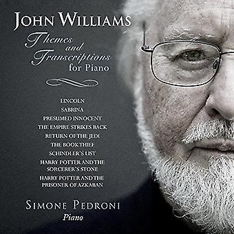 Simone Pedroni - John Williams: Thèmes & Transcriptions pour Piano [CD] USA import