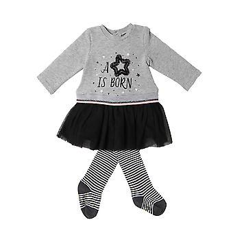 Babybol 2-dielna sada šaty hviezda sa narodil