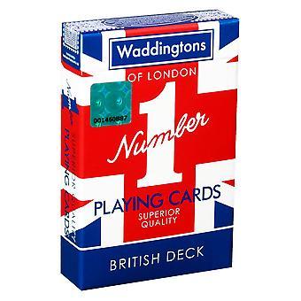 Union Jack Waddingtons No.1 Playing Cards