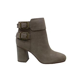 Franco Sarto Womens Kline Leather Square Toe Ankle Fashion Boots