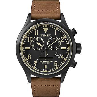 TW2R13100, Waterbury Timex Style Unisex Uhr / Schwarz