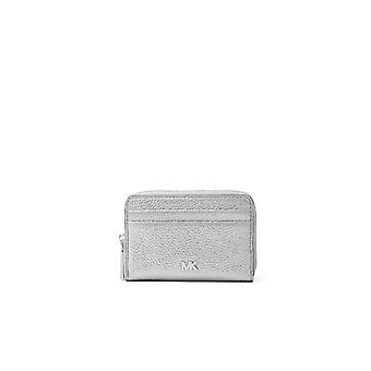 MICHAEL KORS MOTT SILVER CARD HOLDER