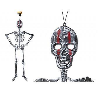 Halloween Decoration 46' Jointed Plastic Skeleton