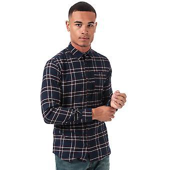 Chemise à carreaux Jack Jones Plain Pre Check en bleu