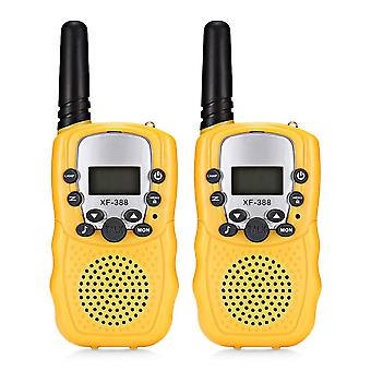 Child Walkie Talkie Parenting Game Mobile Phone Telephone Talking Toy - 8 Channels 3km Range For Kids 2pcs Drop
