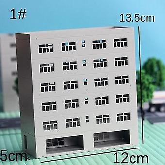 1:150/144 Miniature House Modèle de construction Décoration Sandbox Assemblé Bâtiment