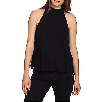 1.State | Halter-Tie Pleated Top