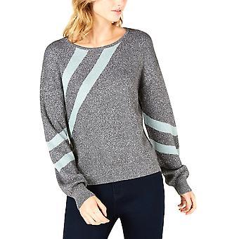 בר III | סוודר מתכתי מפוספס