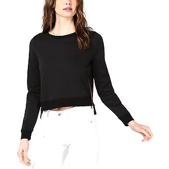 Bar III | Beskåret Zip-Detalj Sweatshirt