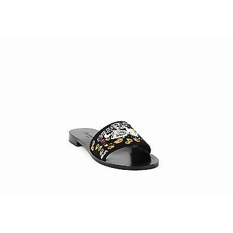 Dior | Judgement Embroidered Slide Sandals