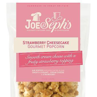 Jordgubbe Cheesecake Popcorn