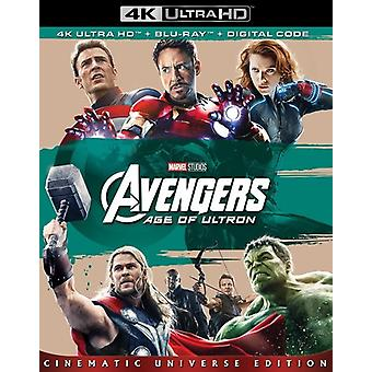 Avengers: Age of Ultron [Blu-ray] VS import