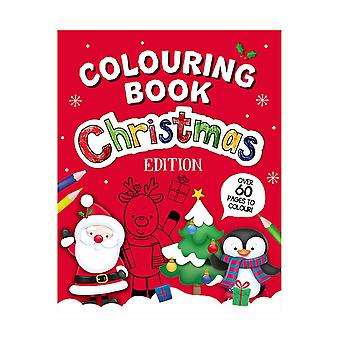 A4 Size Christmas Edition Children's Colouring Book