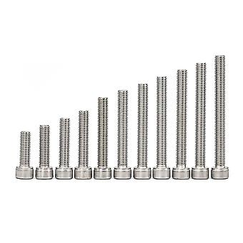 Stainless Steel Hex Socket Screw With Key (m1.6 /m2/ M2.5/m3/ M4/ M5/ M6 /m8/