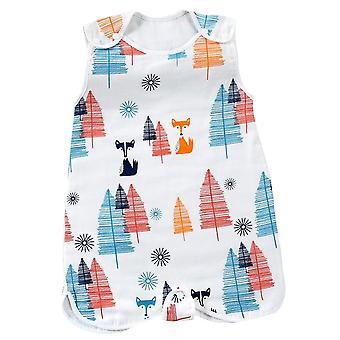 Baby klær sommer pyjamas, bomull sekk, myke ermer