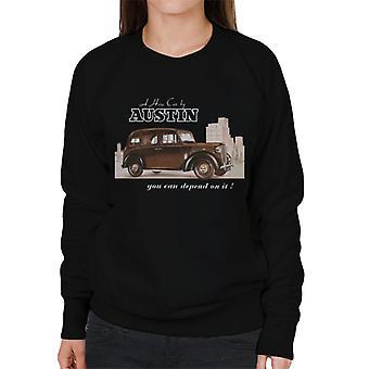 Austin You Can Depend On It British Motor Heritage Women's Sweatshirt