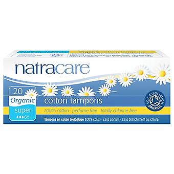 Natracare tamponok, SUPER, 10 CT